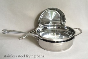 stainless steel pans-NEW